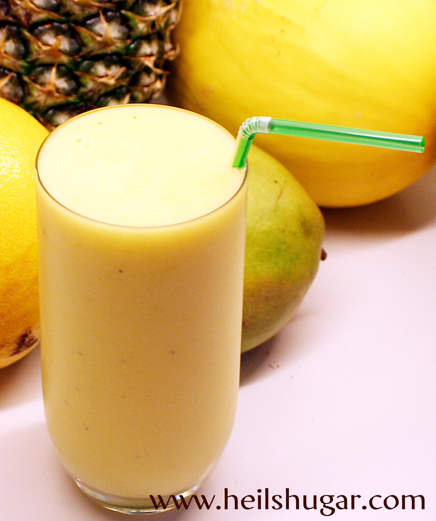 Ferskur og flottur mangóboozt