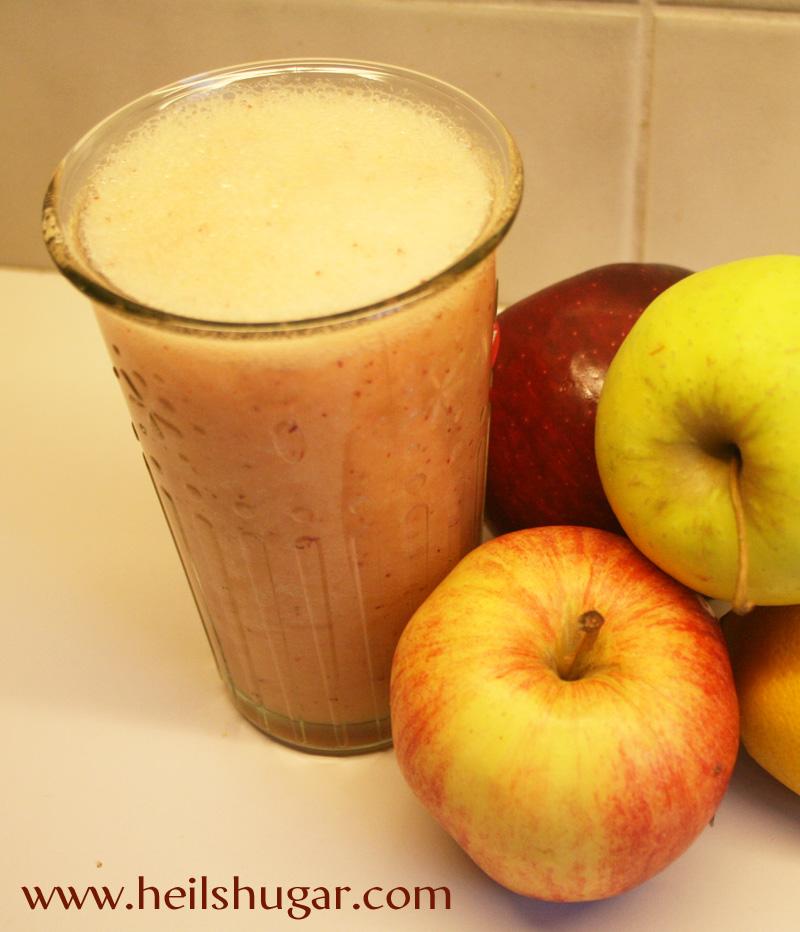Súrsætur boost dagsins: Greip og epli